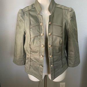 Olive green coat/jacket